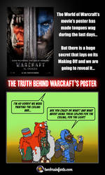 Poster Of Warcraft by TwoBrainFarts