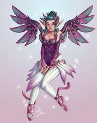 Fairy Mercy by Krystal-Johnson-Art