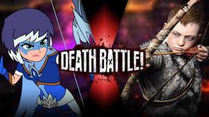 Zarya VS Atreus  by Darkvader2016