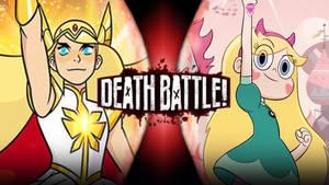 She-Ra VS Star Butterfly by Darkvader2016