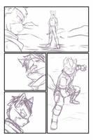 Unfinish Starfox comic by RaxkiYamato