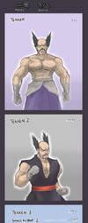 Mishima Heihachi by HakuryuVision
