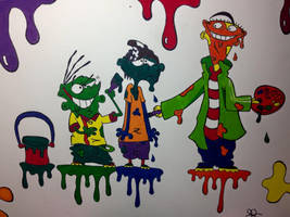 Ed Edd n Eddy school project by SecretAgentKatManx
