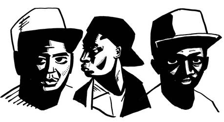 Tribe Called Quest by ckirkillustr8