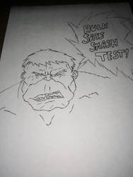 Hulk says... by KhiddRetro96