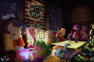A Cozy Hearth's Warming Eve +Final Collab+ by luanton