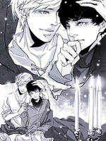 Merlin and Arthur by onlyfuge