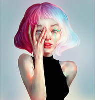 Colorful Tears by Iruuse