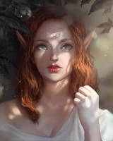 Forest Elf by Iruuse