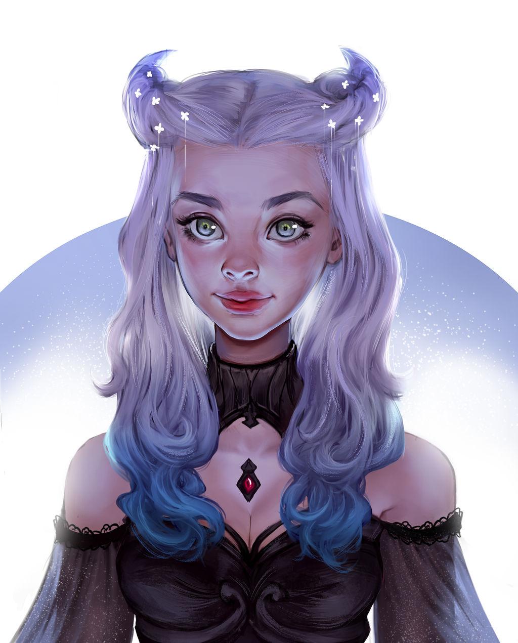 Night Queen by Iruuse