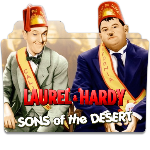 Laurel And Hardy Sons Of The Desert 1933 V1S By Ungrateful601010