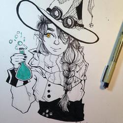 Alchemist Witch by AeroSplat