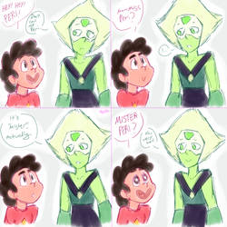 SU: Mister Peri (Gift) by DrGaster