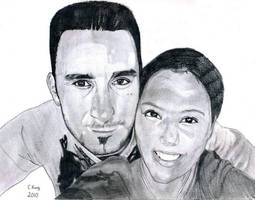 Bella and youssef by CLK-Art-N-Designs