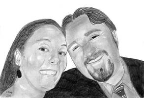 Jess and Paul by CLK-Art-N-Designs