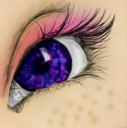 Purple Eye by DeadlyN1ghtShade
