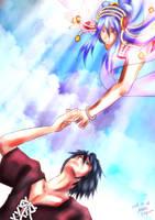 A celestial maiden by asoka4460