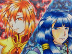 Emperor of the West and the Prince of the East by asoka4460