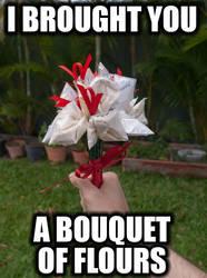 A Bouquet of Flours by riumplus