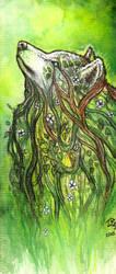 The Plant Spirit by zarielcharoitite