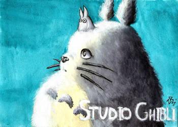 Totoro by zarielcharoitite