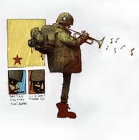 army horn by curtmerlo