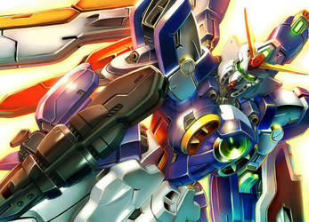 Wing Gundam by Blase17