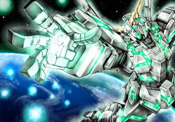 Gundam Unicorn by Blase17