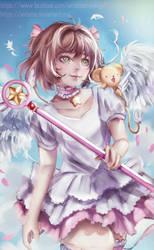 Sakura Kinomoto - Fan Art by Antama