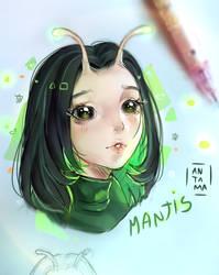 Mantis - Fan art by Antama