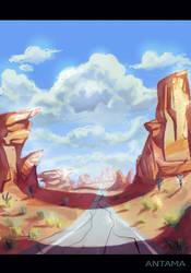 Cayon desert by Antama