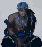 Grimmjow Spirit Society version by seleniver