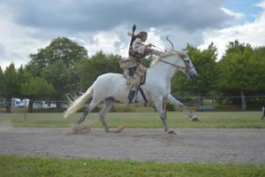 Mounted Archery by AskebodaStock