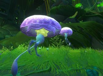 wildstar land jellyfish by cacharoth