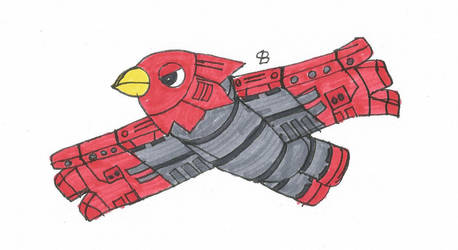 Falco (colored) by SPATON37