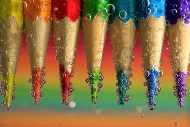 rainbow under water_2 by KaterinaRaed