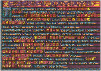 Ezekiel 25 -  17 by vonsteisz