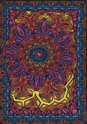 Penrose Flower by vonsteisz