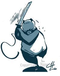 Panda Blues by Gaber