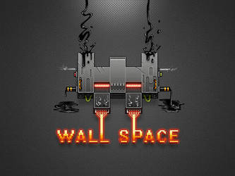 Icon Wall Space Pixel Art by GeekLangel