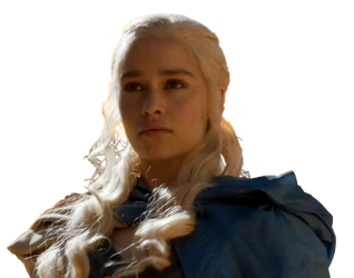 Daenerys Targaryen  PNG by BieberSays