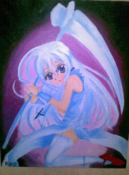 my painting with acrylic.. XD by Tamaachi