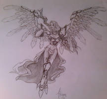 Akroma Angel by Illiamdra