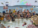 Danilee's Super Cartoon Beach Party by DanileeNatsumi