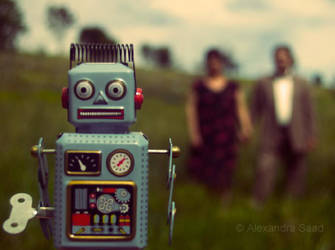 robott by sparkleface