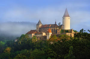 - Castle Krivoklat - by UNexperienced