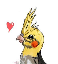 My future bird (I hope) by Ziknale