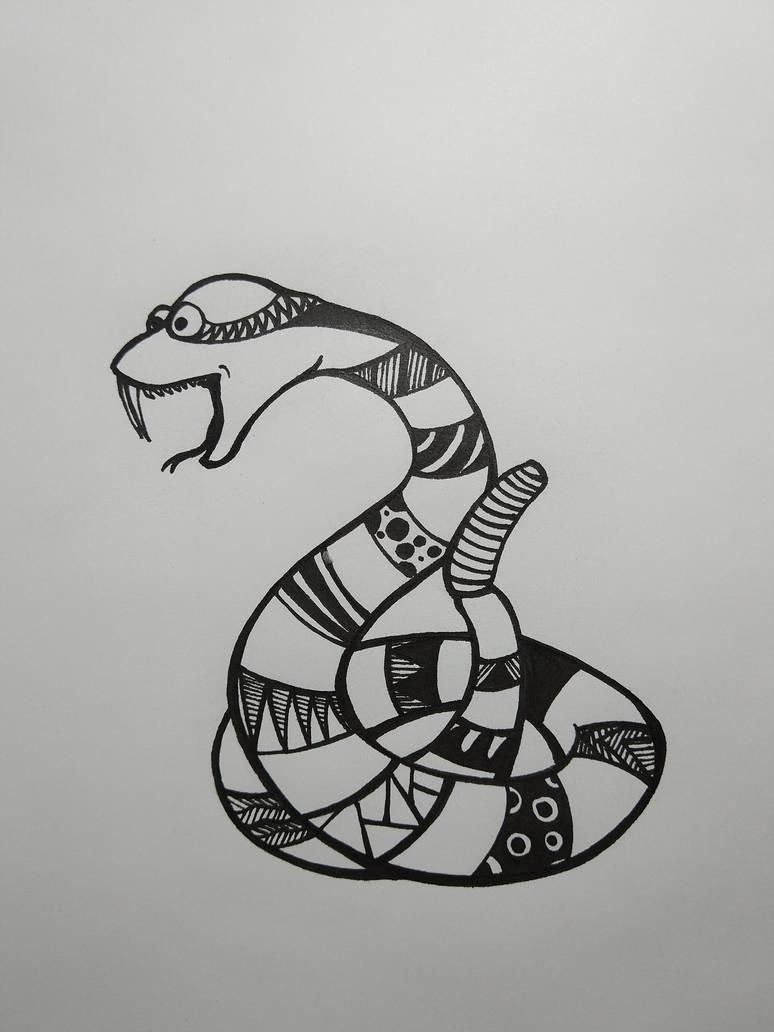 Inktober (poisonous) by Ziknale