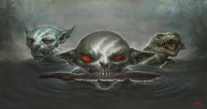 Goblin Predator by apathie