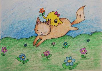 Flower run by Niawmi